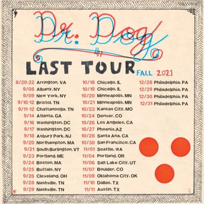Dr Dog Last Tour 2021