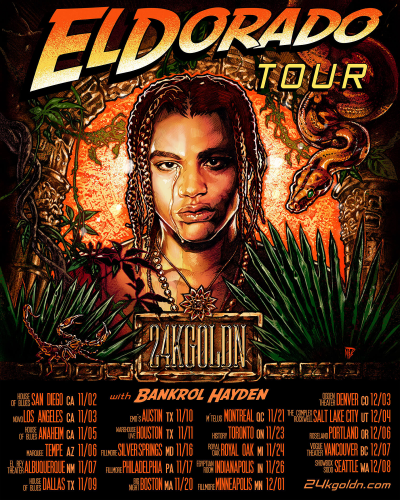 24kGoldn 2021 Tour