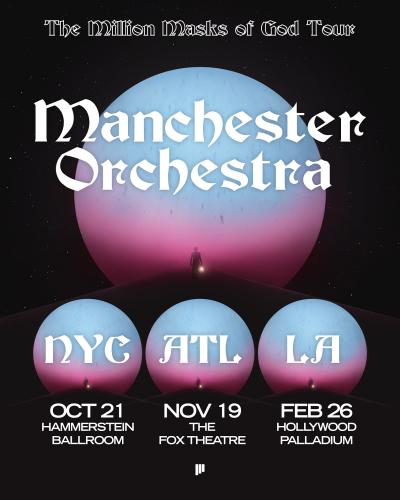Manchester Orchestra The Million Masks of God Tour 2021