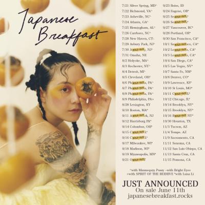 Japanese Breakfast 2021 Tour