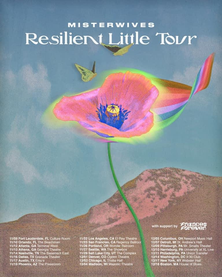 MisterWives Resilient Little Tour 2021
