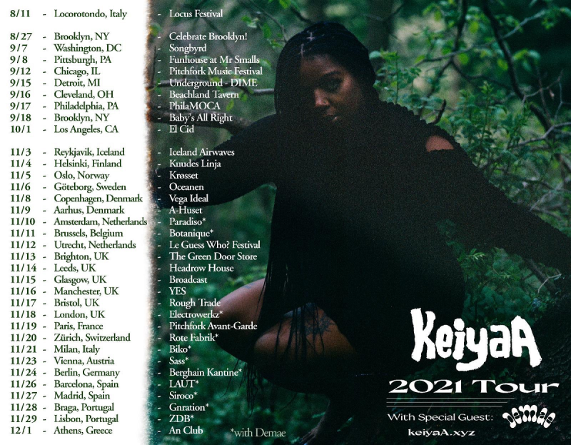 KeiyaA 2021 Tour