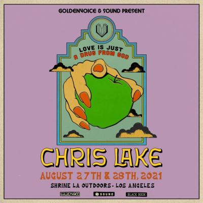 Chris Lake 2021 Shrine Expo Hall Outdoors