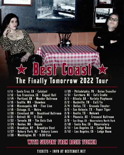 Best Coast The Finally Tomorrow Tour 2022