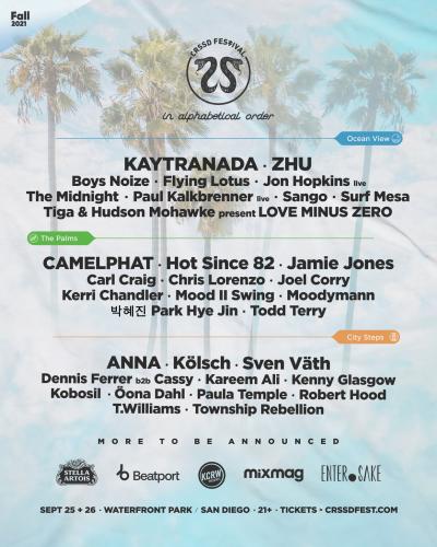 CRSSD Fall 2021 Festival