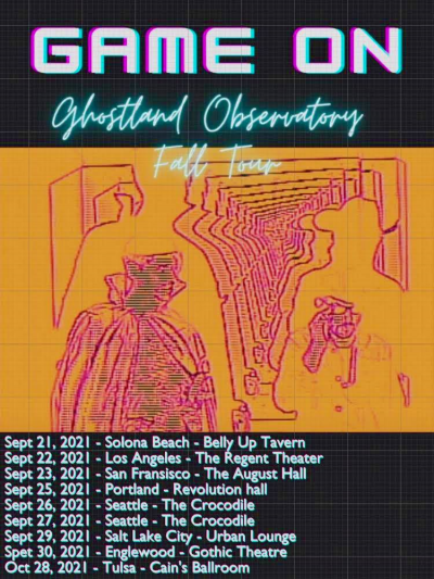 Ghostland Observatory Game On Fall Tour 2021