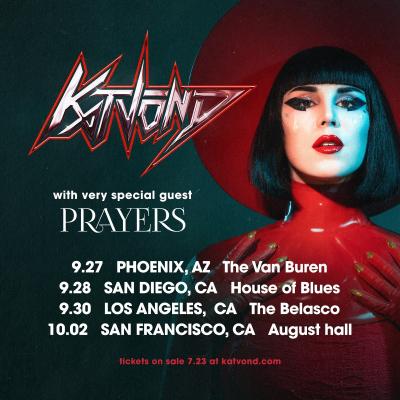 Kat Von D 2021 Tour