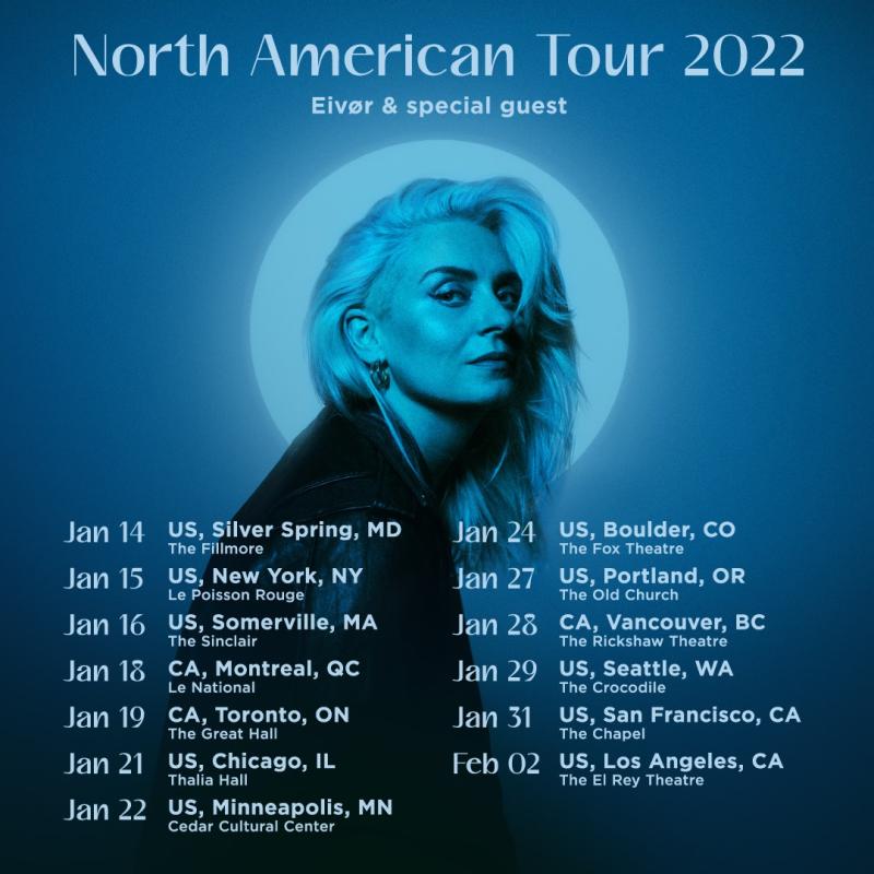 Eivor North American Tour 2022