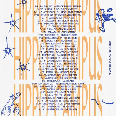 Hippo Campus 2022 North American Tour