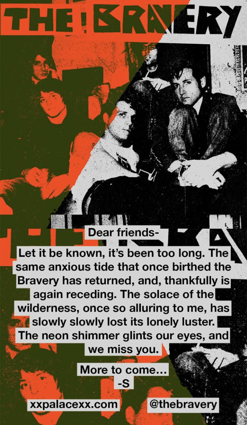 The Bravery Reunion