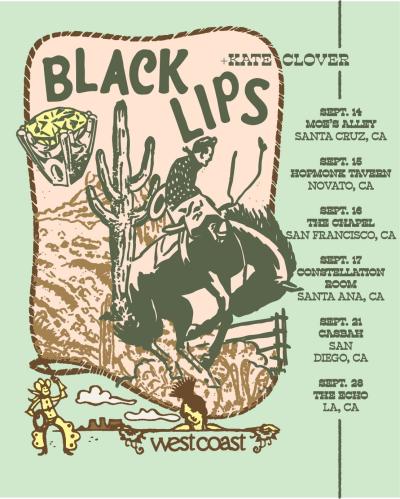 The Black Lips California West Coast Tour 2021