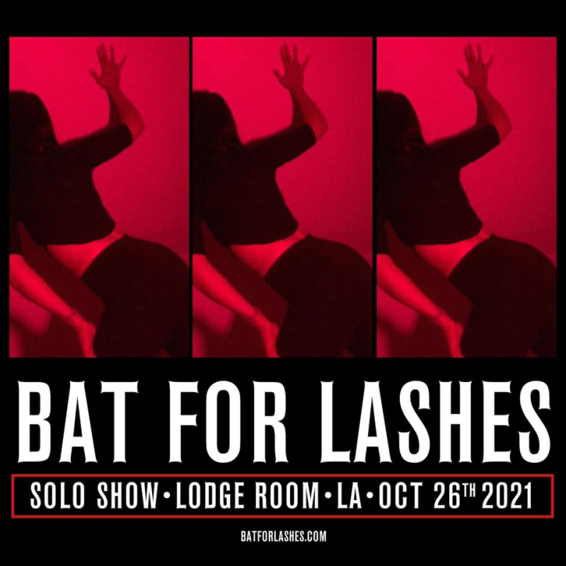 Bat For Lashes Solo Show at the Lodge Room