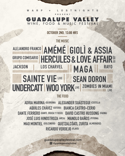 Guadalupe Valley Wine Food and Music Festival 2021