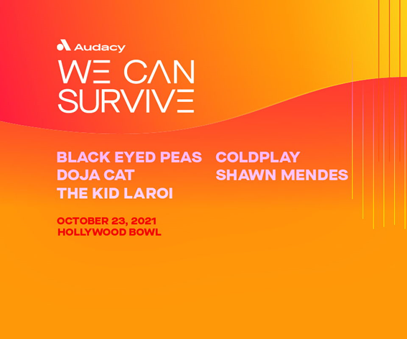 Audacy We Can Survive 2021 Hollywood Bowl