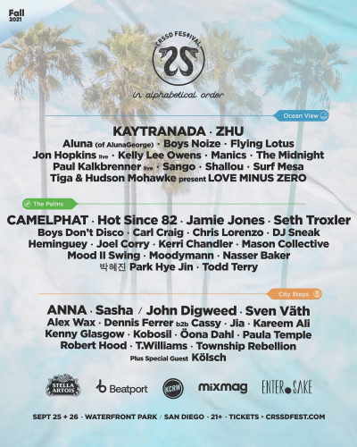 CRSSD Fall 2021 Lineup