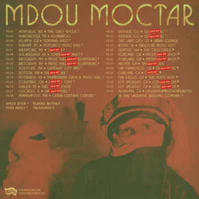 Mdou Moctar Tour 2021