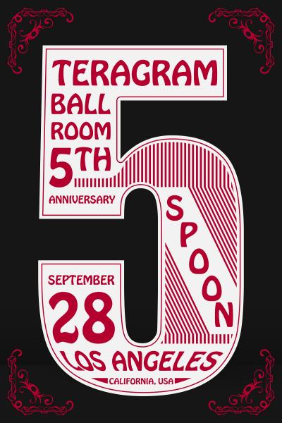 Spoon at Teragram Ballroom