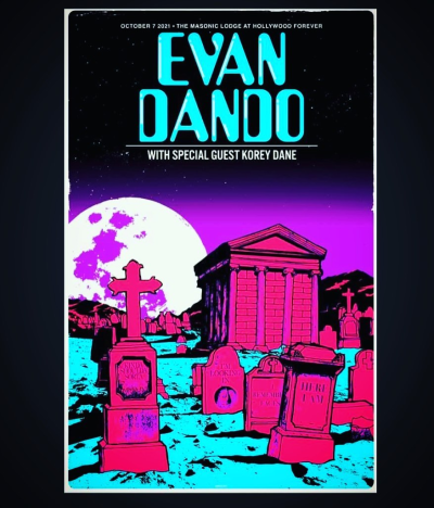 Evan Dando of the Lemonheads at Hollywood Forever