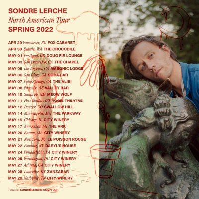Sondre Lerche Spring 2022 North American Tour