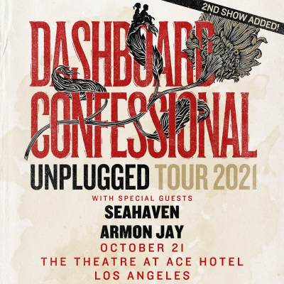 Dashboard Confessional The Theatre at Ace Hotel