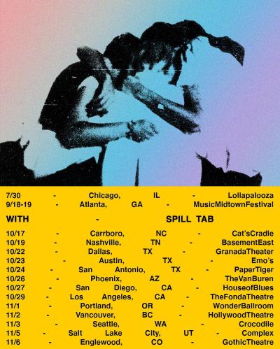 Gus Dapperton Tour 2021