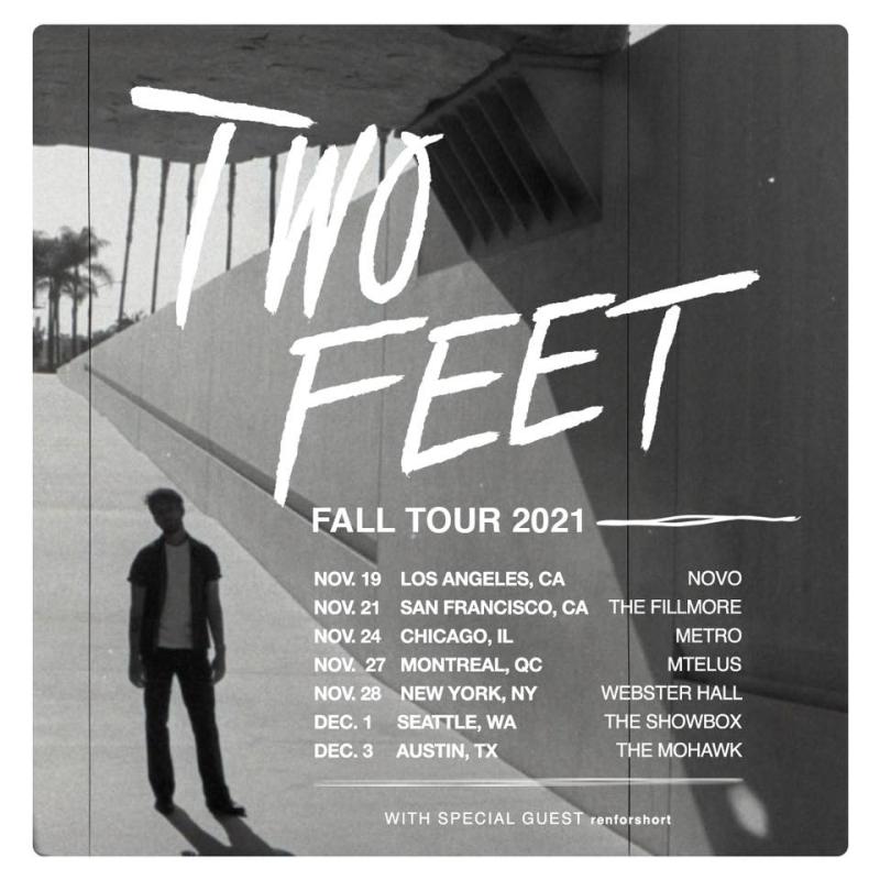 Two Feet Fall Tour 2021