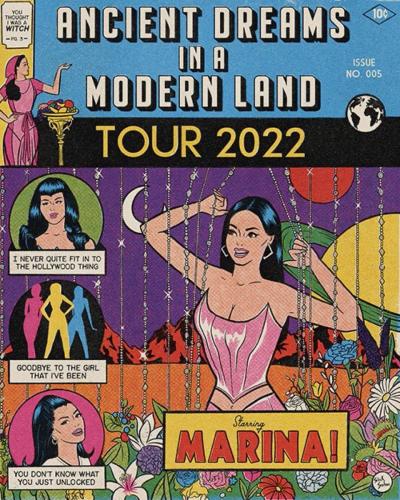 Marina Ancient Dreams In A Modern World Tour 2022