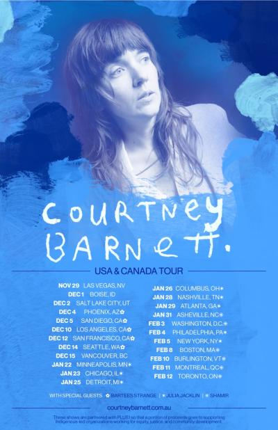 Courtney Barnett 2021 USA Tour
