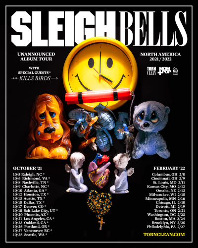 Sleigh Bells Unannounced Album Tour 2021