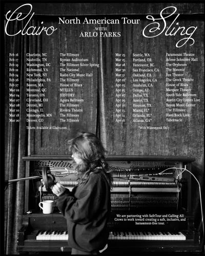 Clairo 2022 Sling North American Tour