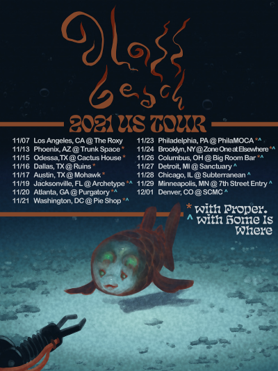 Glass Beach 2021 US Tour