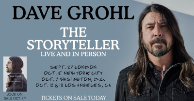 Dave Grohl The Storyteller Tour 2021