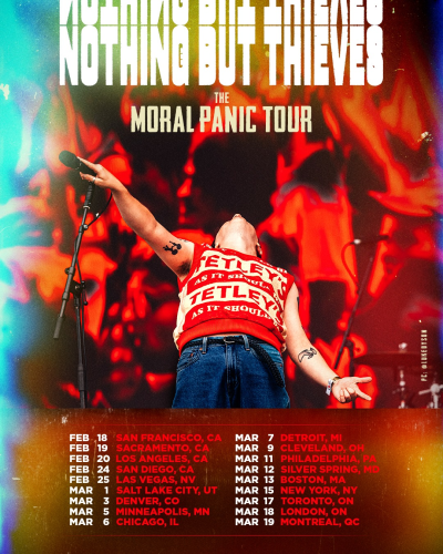 Nothing But Thieves The Moral Panic Tour 2022
