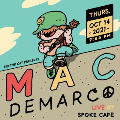Mac DeMarco at Spoke Cafe