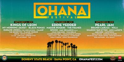 Ohana Festival 2021 Lineup