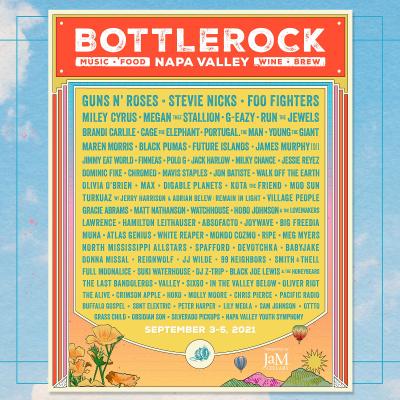 Bottlerock Napa Valley Music Festival 2021