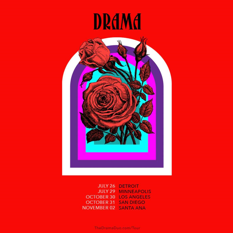 Drama 2021 North American Tour