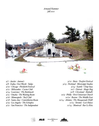 Armand Hammer Fall Tour 2021