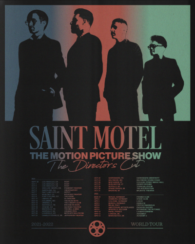 Saint Motel The Motion Picture Show The Directors Cut Tour 2021
