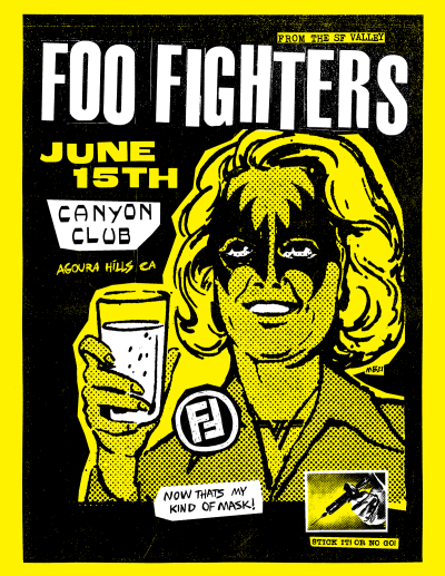Foo Fighters Canyon Club