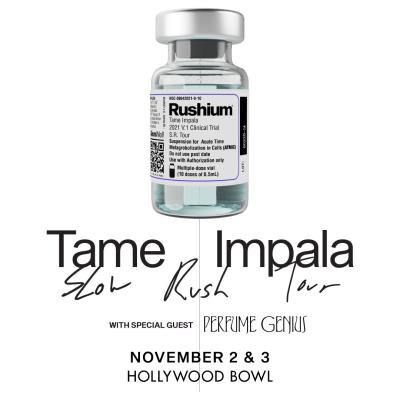 Tame Impala Slow Rush Tour 2021
