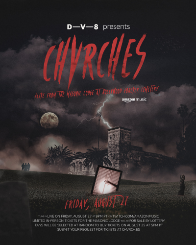 CHVRCHES Alive The Masonic Lodge at Hollywood Forever Cemetery 2021