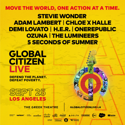 Global Citizen at the Greek Theatre