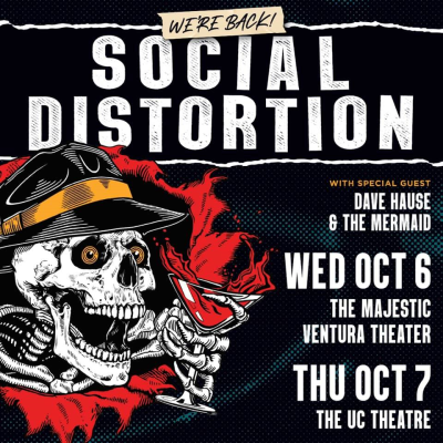 Social Distortion at the Majestic Ventura Theater