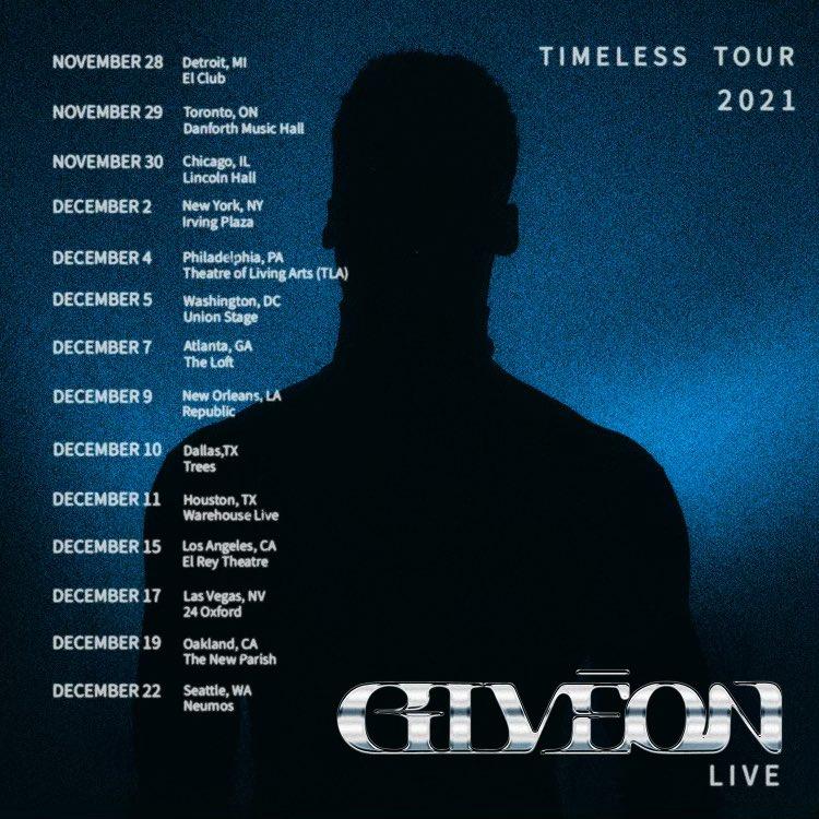 Giveon Timeless Tour 2021