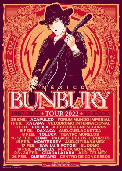 Bunbury 35 Anos Tour 2022