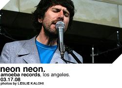 Neon Neon @ Amoeba Records