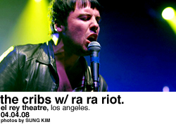 The Cribs @ the El Rey