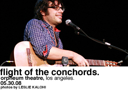 Flight of the Conchords @ Orpheum Theatre