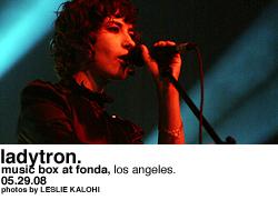 Ladytron @ Music Box at Fonda